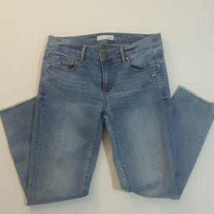 LOFT Modern Skinny Blue Jeans